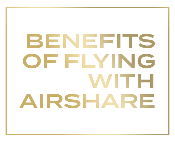 Airshare pilots enjoy great benefits as well as a great work-life balance.
