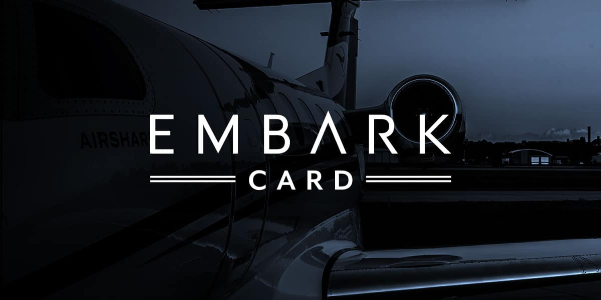 The EMBARK Jet Card offers up to ten travel days on an annual basis for your private aviation needs.