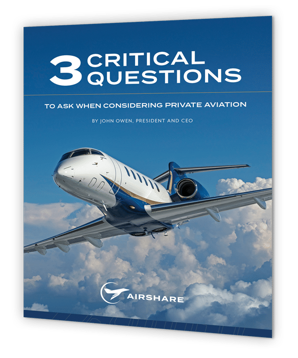 Three Critical Questions to Ask When Considering Private Aviation